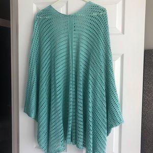 Cejon Sweaters - Cejon cardigan poncho/swim coverup